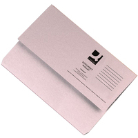 Foolscap Document Wallet - Buff - 285gsm - Pack of 10