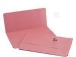 Foolscap Document Wallet - Pink - 285gsm - Pack of 50