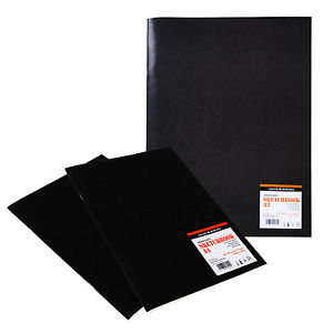 Daler Rowney Graduate A4 Glossy Cover Sketch Book - 140gsm - Each