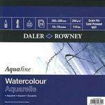 Daler Rowney Aquarelle Watercolour Pad - 25 x 25cm - 250gsm - Each