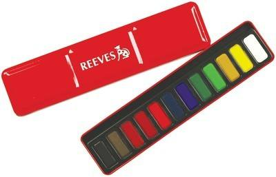 Reeves Watercolour Tin - Assorted - Each