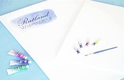 Rutland Watercolour Paper / Art Board - 56 x 76cm - Pack of 25