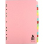 Subject Dividers - A4 - 15-Part - Pack of 15