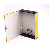 Q Connect Box File Foolscap Yellow