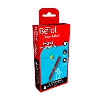 Berol Handhugger Handwriting Pens - Black - Pack of 12