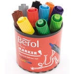 Berol Colour Markers - Assorted - Pack of 12