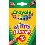 Crayola Glitter Crayons - Assorted - Pack of 16