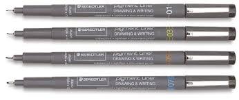 Staedtler Pigment Liners - 0.5 Nib - Each