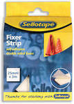 Sellotape Sticky Fixer Roll - 25mm x 3m - Each