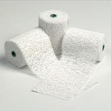 Artroc/Modroc Bandage Roll - 8cm x 3m - Class Pack of 12 rolls