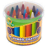 Crayola Beginnings Jumbo Crayons - Assorted - Pack of 24 - 1 year+