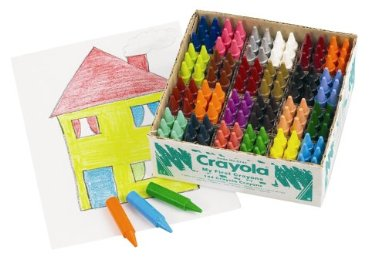 Crayola Beginnings Jumbo Crayons - Assorted Class Pack of 144 - 1 year+