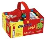 Giotto Be-Be' Super Crayons - Assorted - Schoolpack of 40 - 2 Years+