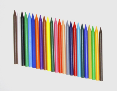 Plastix Crayons - Assorted - Pack of 24
