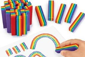 Rainbow Crayons - Pack of 25