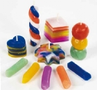 Candle Wax Crayons - Assorted - Pack of 40