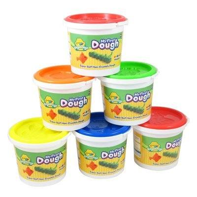 Crayola Beginnings Modelling Dough - Assorted - 200g - Pack of 6 - 1 Year+