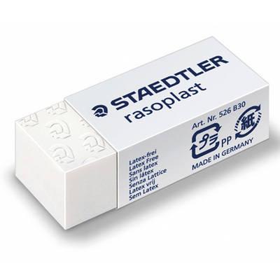 Staedtler Rasoplast Plastic Eraser - Pack of 30
