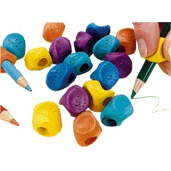 Grip-It Pencil Grips - Assorted - Pack of 2