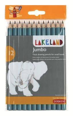 Lakeland Jumbo H.B Graphite Pencil - Pack of 12