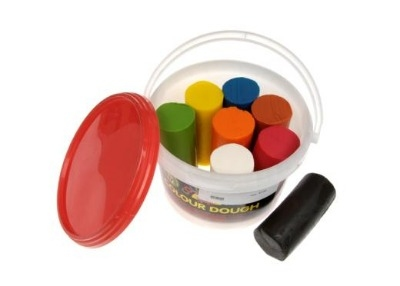 Finger Soft Dough - Assorted Bright Colours - 2.4kg