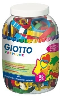 Giotto Modelling Tool Set - Assorted - Tub of 95