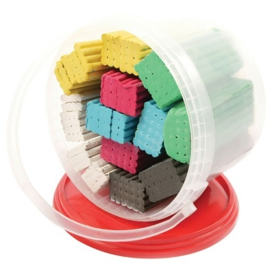 Plasticine - Assorted - 3kg Bucket