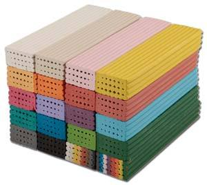 Plasticine - Yellow - 500g Bar - Each