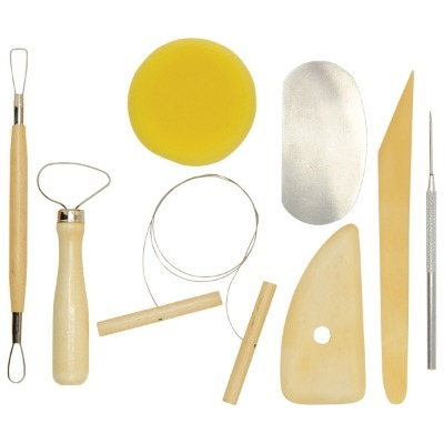 Pottery Tool Kit - Assorted - Pack of 8