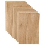 Wooden Clay Boards - 20 x 30cm - Pack of 10