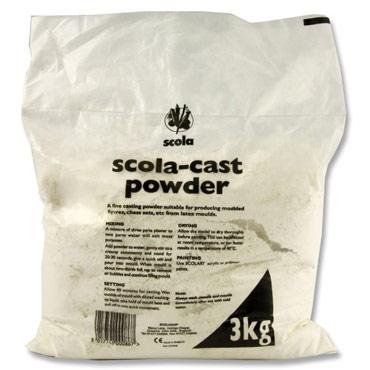 Scola-Cast Powder/Plaster of Paris - 3kg - Each