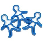 Gingerbread Men Shape Cutters - Pack of 3
