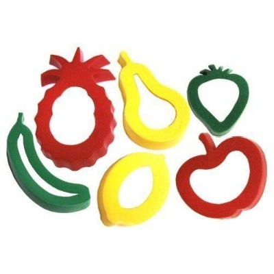Shape Cutters - Fruit - Assorted - Pack of 6