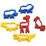 Jungle Shape Cutters - Assorted - Pack of 6