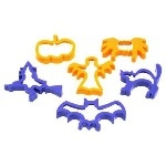 Halloween Shape Cutters - Pack of 6