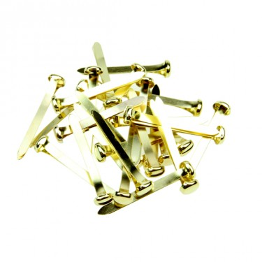 Brass Paper Fasteners (Split Pins) - Pack of 60