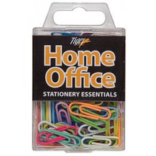 Coloured Paper Clips - 33mm - Pack of 100