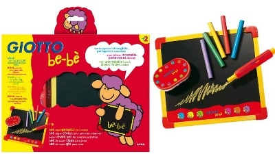 Giotto Be-Be Super Chalk Set - Each - 2 Years+