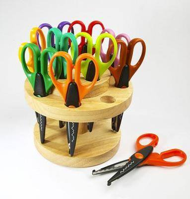Crazy Cut Scissor Carousel - Assorted - Pack of 12