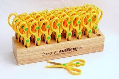 Spring Assisted Junior Scissors Class Pack - 32 Pairs
