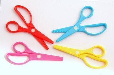 My First Pattern Scissors - Assorted - Pack of 4
