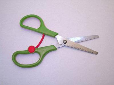 Spring Aided Left Handed Scissors - Pack of 10