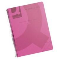 Spiral Book - A4 - Polypropylene - Pink - PK5