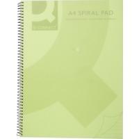 Spiral Book - A5 - Polypropylene - Green - PK5