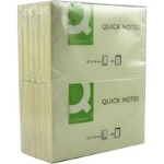 Quick Note - 75x125mm - Yellow - Pack of 12