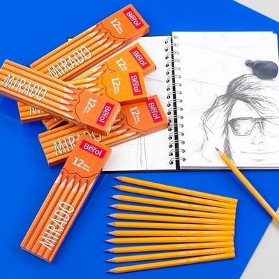 Berol Mirado 4B Sketching Pencils - Pack of 72