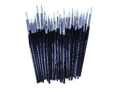 Imitation Sable SH Short Handled Brushes - Assorted - Class Pack - Pack of
