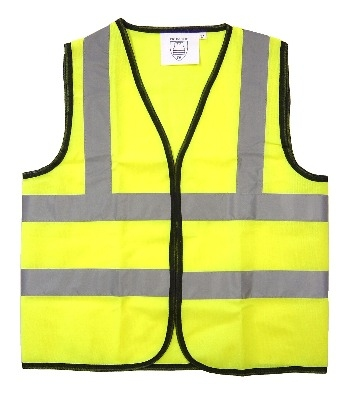 High Visibility Waistcoat - Large (32inch chest) - Each