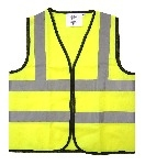 High Visibility Waistcoat - Medium (30 inch chest) - Each