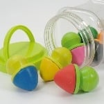 Easy Grip Chalks - Assorted - Pack of 6